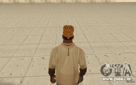 Bandana maryshuana pour GTA San Andreas troisième écran