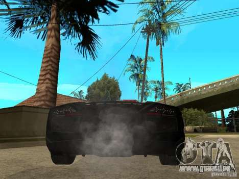 Lamborghini Reventon The Speed Enforcer für GTA San Andreas zurück linke Ansicht