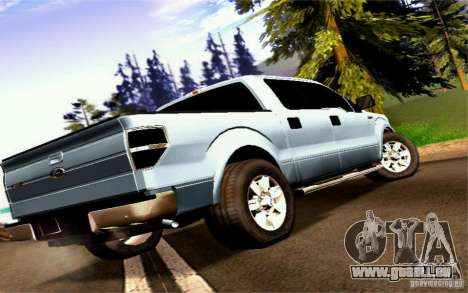 Ford Lobo 2012 für GTA San Andreas linke Ansicht