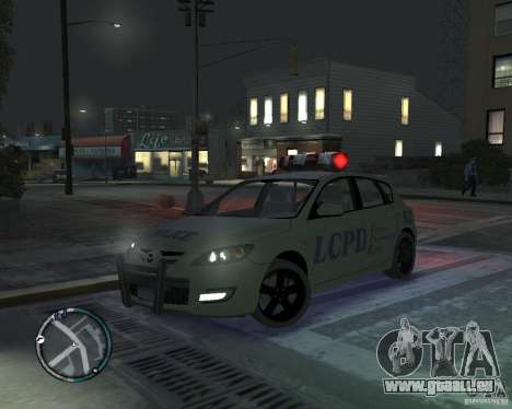 Mazda 3 Police für GTA 4