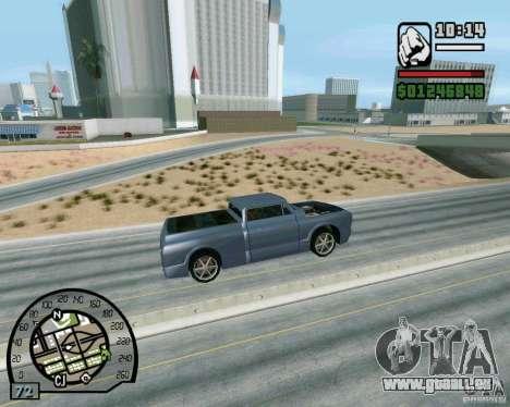 Springt auf der Autobahn in Las Venturase für GTA San Andreas fünften Screenshot