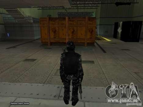 New Army pour GTA San Andreas deuxième écran