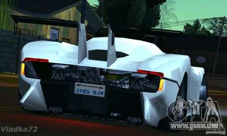 Pagani Zonda EX-R für GTA San Andreas linke Ansicht