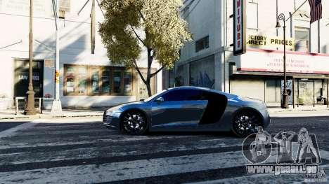 Audi R8 Spider 2011 für GTA 4 linke Ansicht