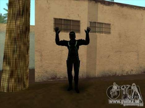 Eine Figur aus dem Spiel Tron: Evolution für GTA San Andreas