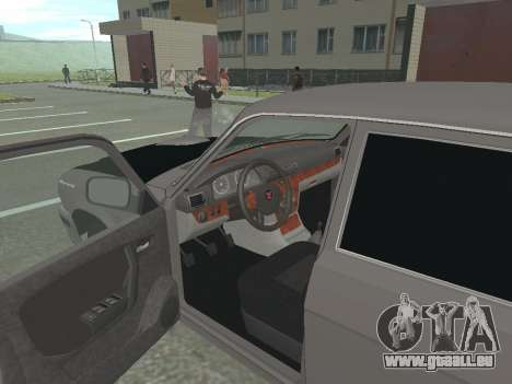 GAZ Wolga 31105 Neugestaltung für GTA San Andreas Rückansicht