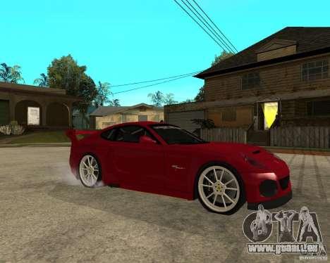 Ferrari 612 Scaglietti GTS LaMans TUNING pour GTA San Andreas vue de droite