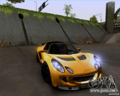 Lotus Exige für GTA San Andreas Seitenansicht