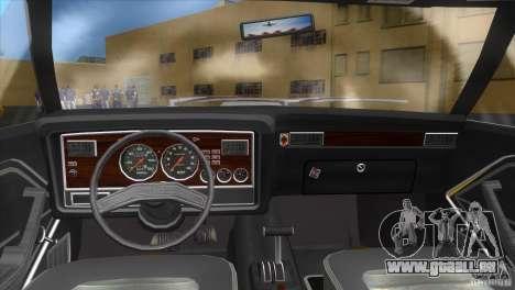 Ford Mustang Cobra 1976 pour GTA Vice City sur la vue arrière gauche