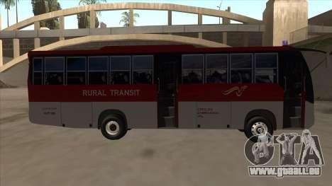 Rural Transit 10206 pour GTA San Andreas sur la vue arrière gauche