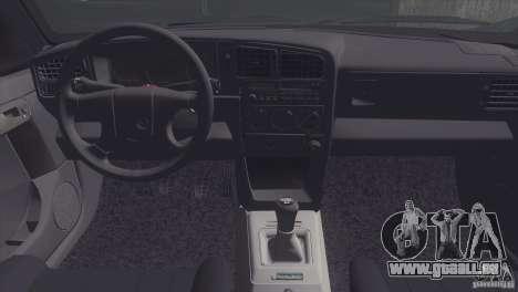 Volkswagen Passat B3 v2 pour GTA San Andreas vue arrière