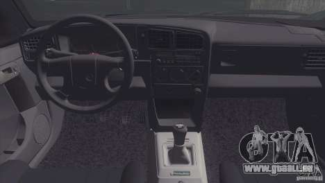 Volkswagen Passat B3 v2 für GTA San Andreas Rückansicht