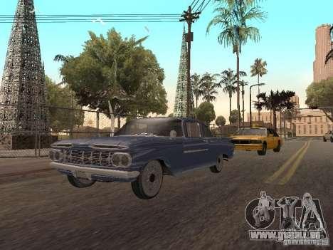 Chevrolet Biscayne 1959 pour GTA San Andreas laissé vue