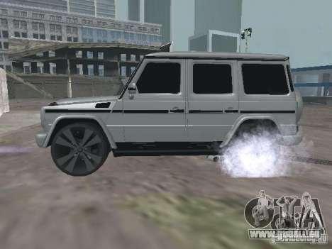 Mercedes-Benz G500 Kromma 1480 pour GTA San Andreas laissé vue