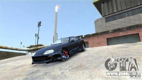 Toyota Supra RZ 1998 v 2.0 für GTA 4 Rückansicht
