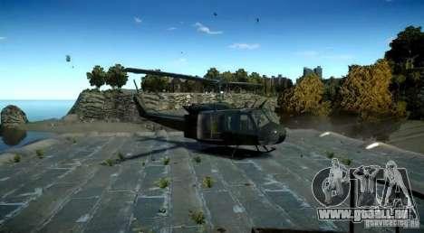 Bell UH-1D German Bundeswehr für GTA 4 hinten links Ansicht