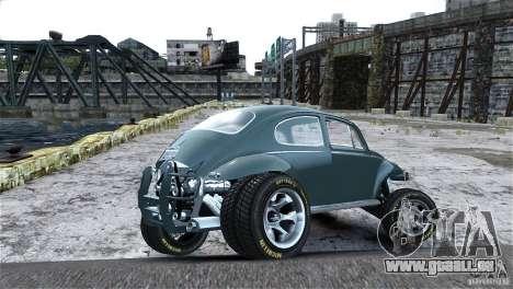 Baja Volkswagen Beetle V8 pour GTA 4 est un côté