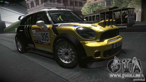 Mini Countryman WRC pour GTA San Andreas vue arrière