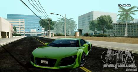 Audi R8 Light Tuned Version pour GTA San Andreas