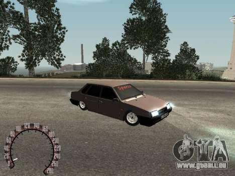 VAZ 21099 für GTA San Andreas linke Ansicht