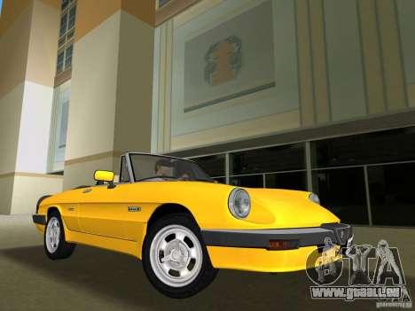 Alfa Romeo Spider 1986 pour GTA Vice City