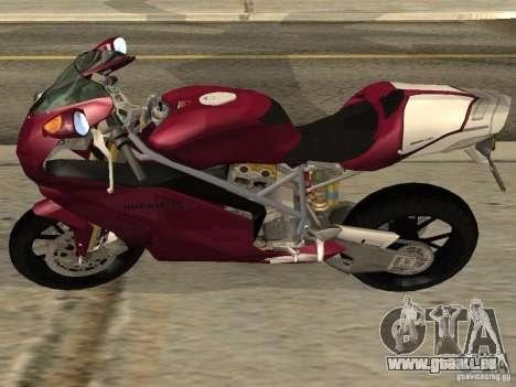 Ducati 999R pour GTA San Andreas laissé vue