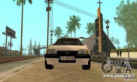Opel Kadett E für GTA San Andreas rechten Ansicht
