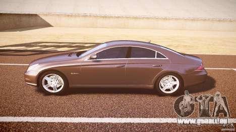 Mercedes-Benz CLS 63 pour GTA 4 Vue arrière de la gauche