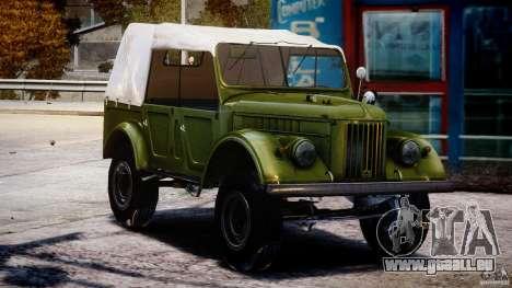 GAZ-69A, 1965 für GTA 4 Rückansicht