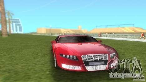 Audi Nuvolari Quattro pour GTA Vice City vue arrière