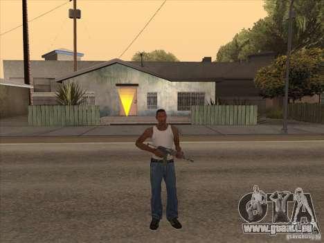 Nouveau Pack d'armes domestiques pour GTA San Andreas sixième écran