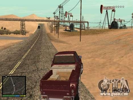 GTA V Interface for Samp für GTA San Andreas