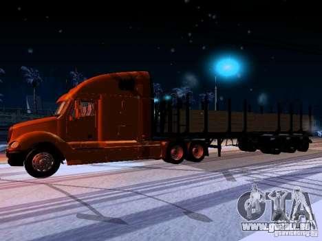 Freightliner Columbia pour GTA San Andreas laissé vue