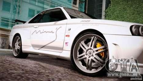 FM3 Wheels Pack für GTA San Andreas zweiten Screenshot