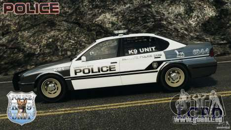 LCPD K9 Unit für GTA 4 linke Ansicht