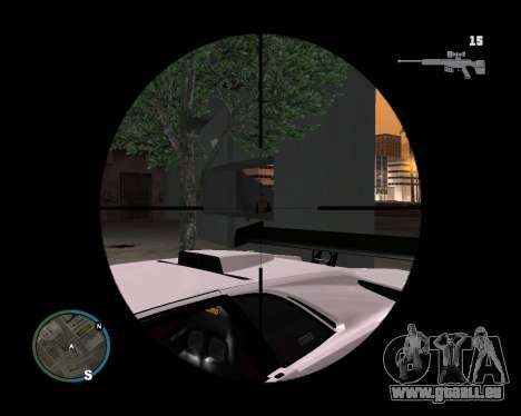 VSS Vintorez für GTA San Andreas zweiten Screenshot