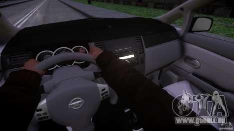 Nissan Versa pour GTA 4 Vue arrière