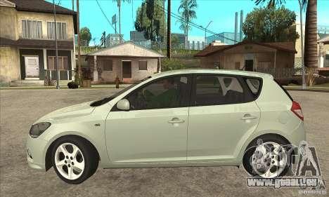 Kia Ceed 2011 für GTA San Andreas linke Ansicht