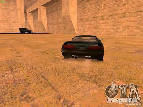 Infernus Revolution für GTA San Andreas Innen