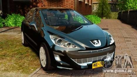 Peugeot 308 2007 pour GTA 4