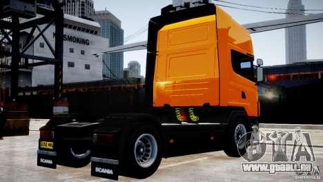 Scania R500 pour GTA 4 est un droit