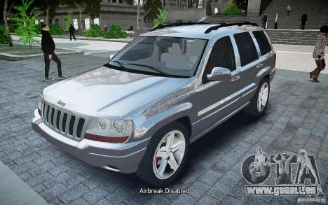 Jeep Grand Cheroke pour GTA 4