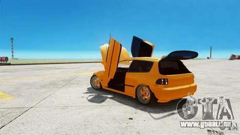 Honda Civic Tuned für GTA 4 rechte Ansicht