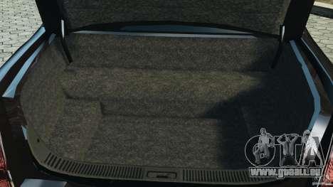 Lincoln Town Car Limousine 2006 pour GTA 4 vue de dessus