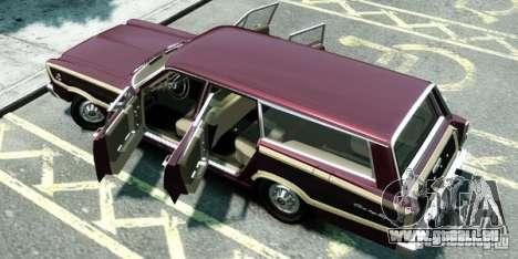 Ford Country Squire pour GTA 4 Vue arrière de la gauche