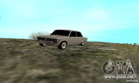 VAZ 2106 Tuning Light pour GTA San Andreas salon