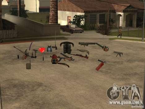 Waffen für GTA San Andreas dritten Screenshot