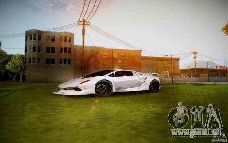 Lamborghini Sesto Elemento für GTA San Andreas linke Ansicht