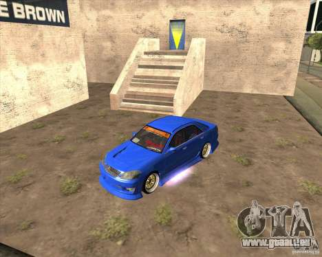 Toyota JZX110 make 2 pour GTA San Andreas