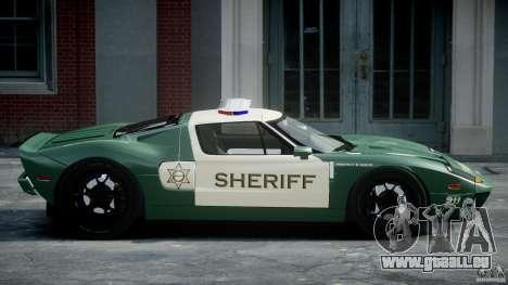 Ford GT1000 Hennessey Police 2006 [EPM][ELS] pour GTA 4 est une gauche